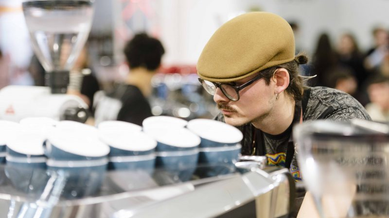 CMx™ Opens in the Search for Italy's Top Barista